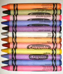 Picture of crayolas